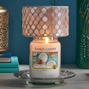 Yankee Candle Paralume grande linea Champagne Pearl-2