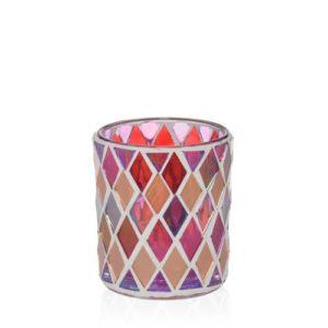 yankee candle porta candela sampler-warm rustic